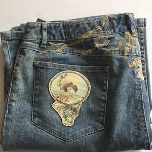 J. Jill | Women's limited edition jeans size 16